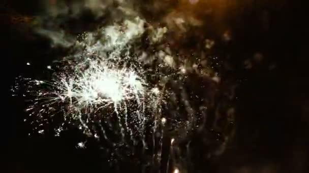 výkonné aplikace fireworks na noční obloze