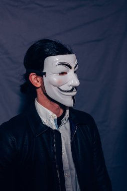 V for Vendetta Mask Guy Fawkes Anonymous fancy Cosplay.