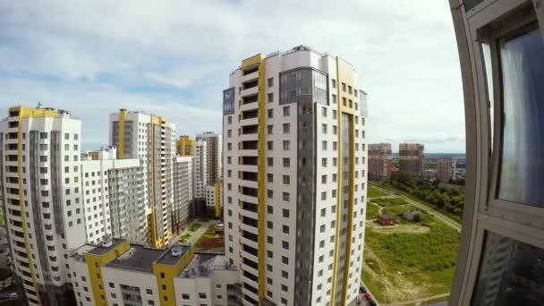 St. Petersburg vícepodlažní bytové domy timelapse video