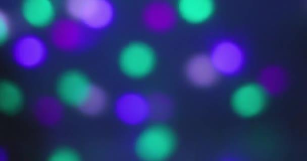 Světlé barevné abstrakce soundlights efekt