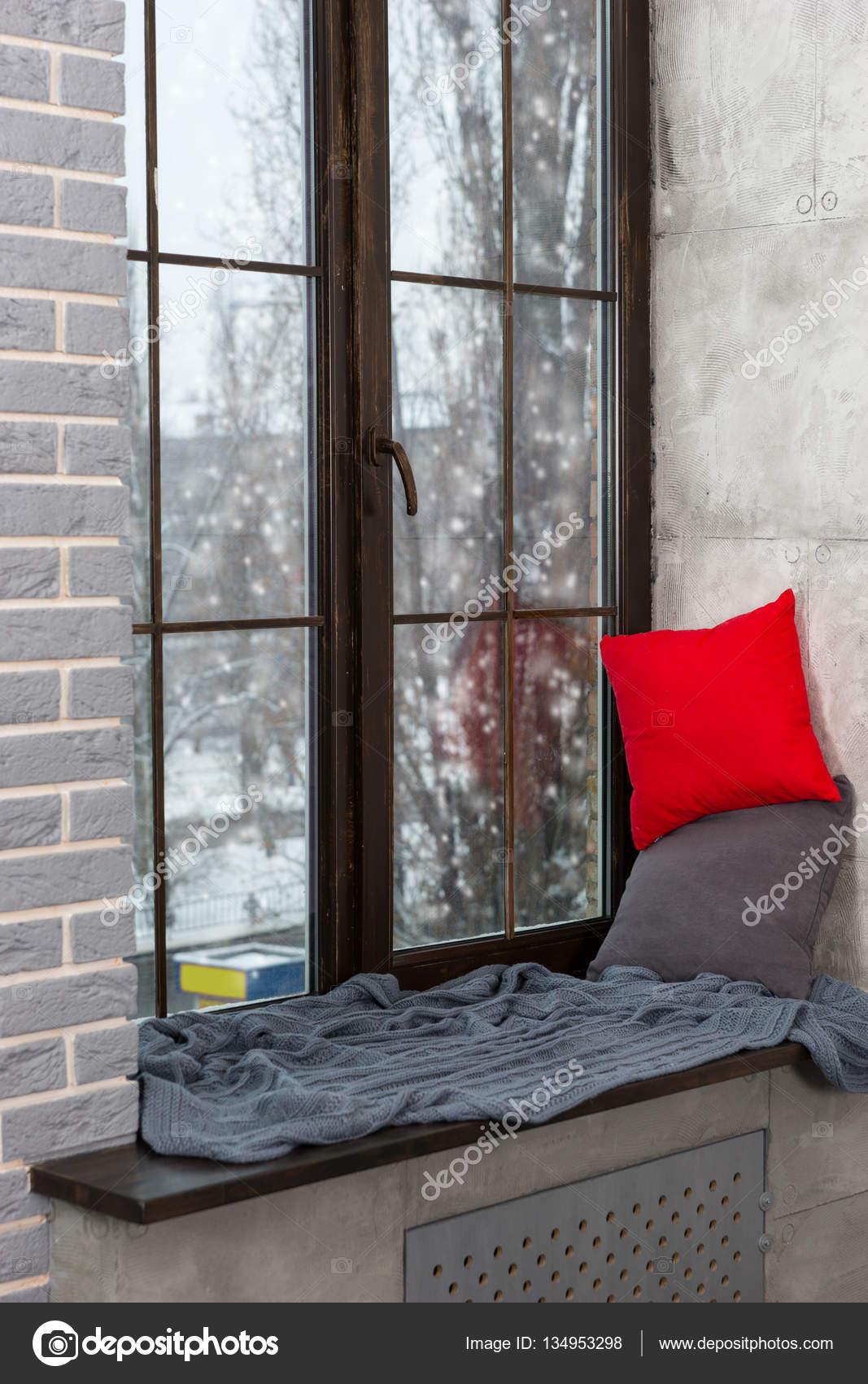 Vensterbank decoratie groot raam for Decoratie vensterbank slaapkamer