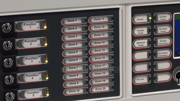 Panel dotykové obrazovky s požární poplach