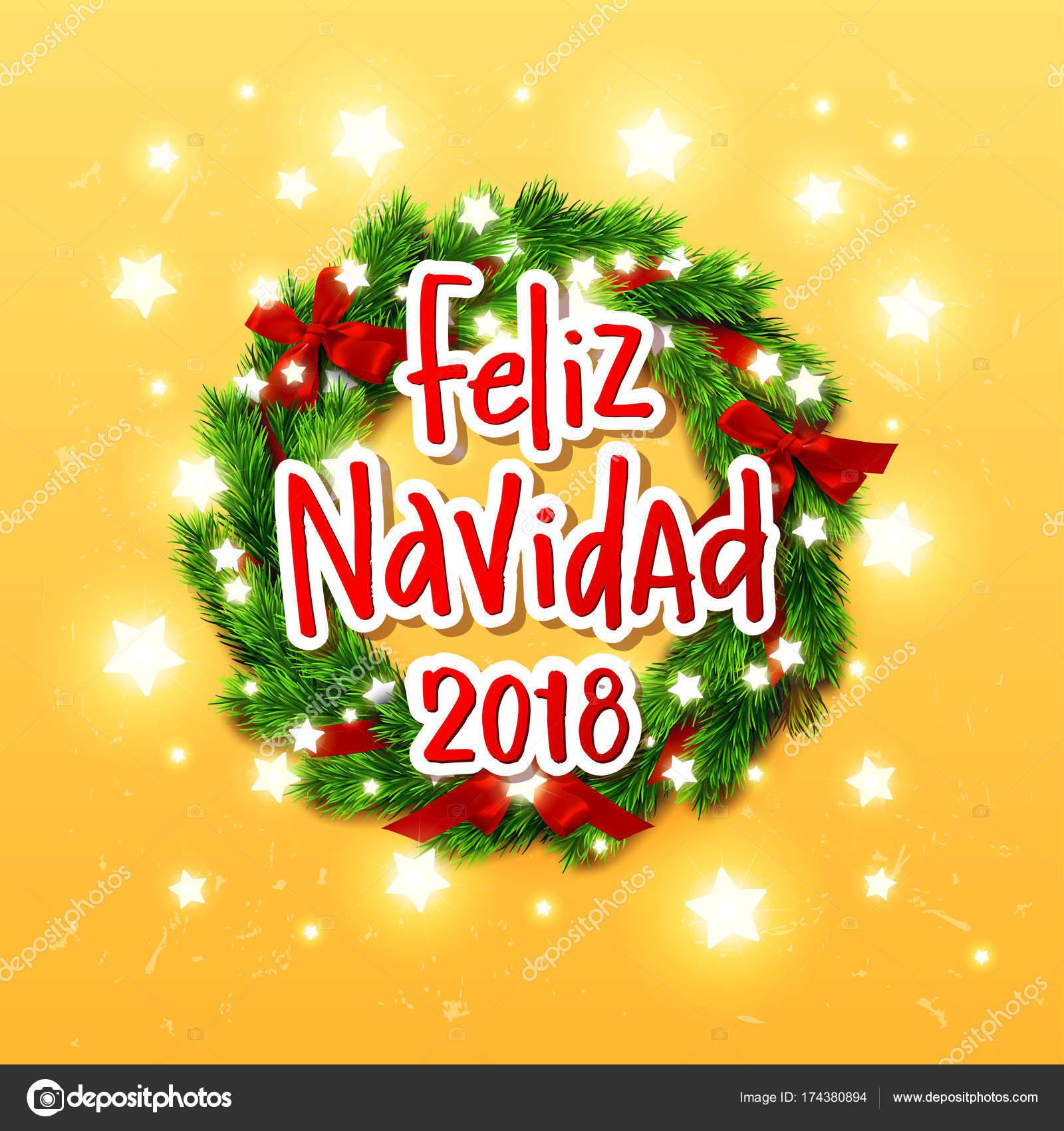 Buon Natale In Spagnolo.Calligrafia Disegnata A Mano Buon Natale In Lingua Spagnola Feliz Navidad Concetto Scritto A Mano Grafica Vettoriale C Wywenka 174380894 Depositphotos