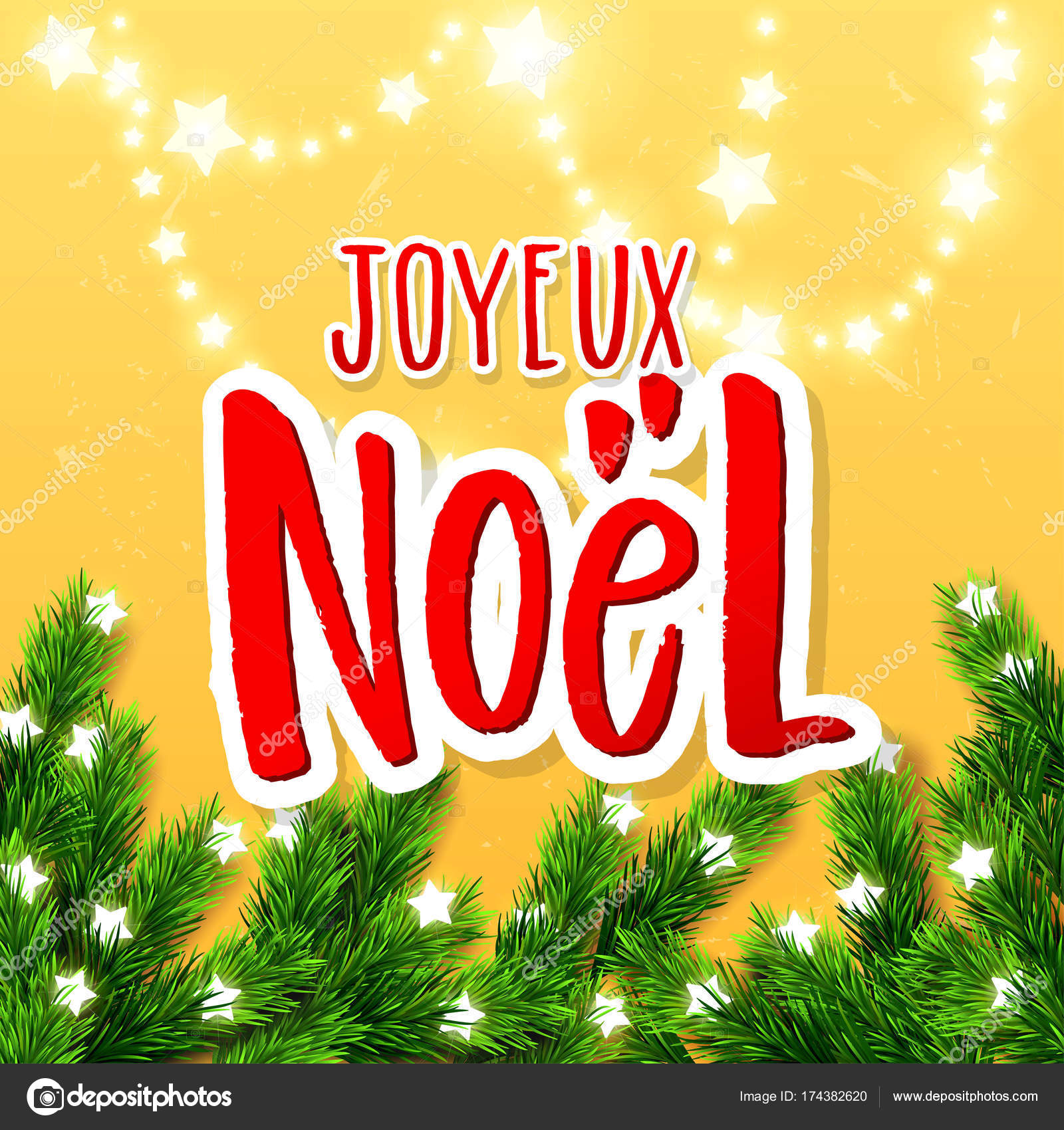 Merry christmas greeting card with greetings in french language merry christmas greeting card with greetings in french language xmas vector background hand drawn m4hsunfo