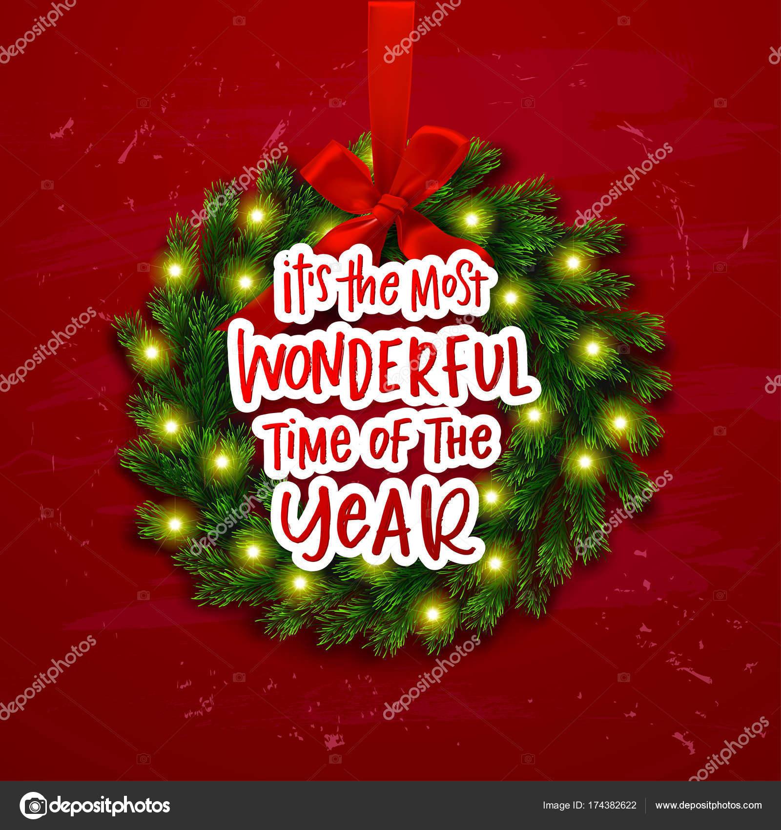 Christmas Greeting Card Xmas Vector Background Hand Drawn