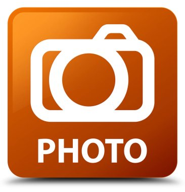 Photo (camera icon) brown square button