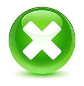 Színkalibrációs szekvenciát ikon üveges zöld kör