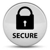 Zajistit zvláštní bílé kulaté tlačítko (ikona visacího zámku)