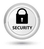 Prvotní bílé kulaté tlačítko zabezpečení (ikona visacího zámku)