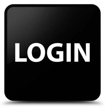 Login black square button