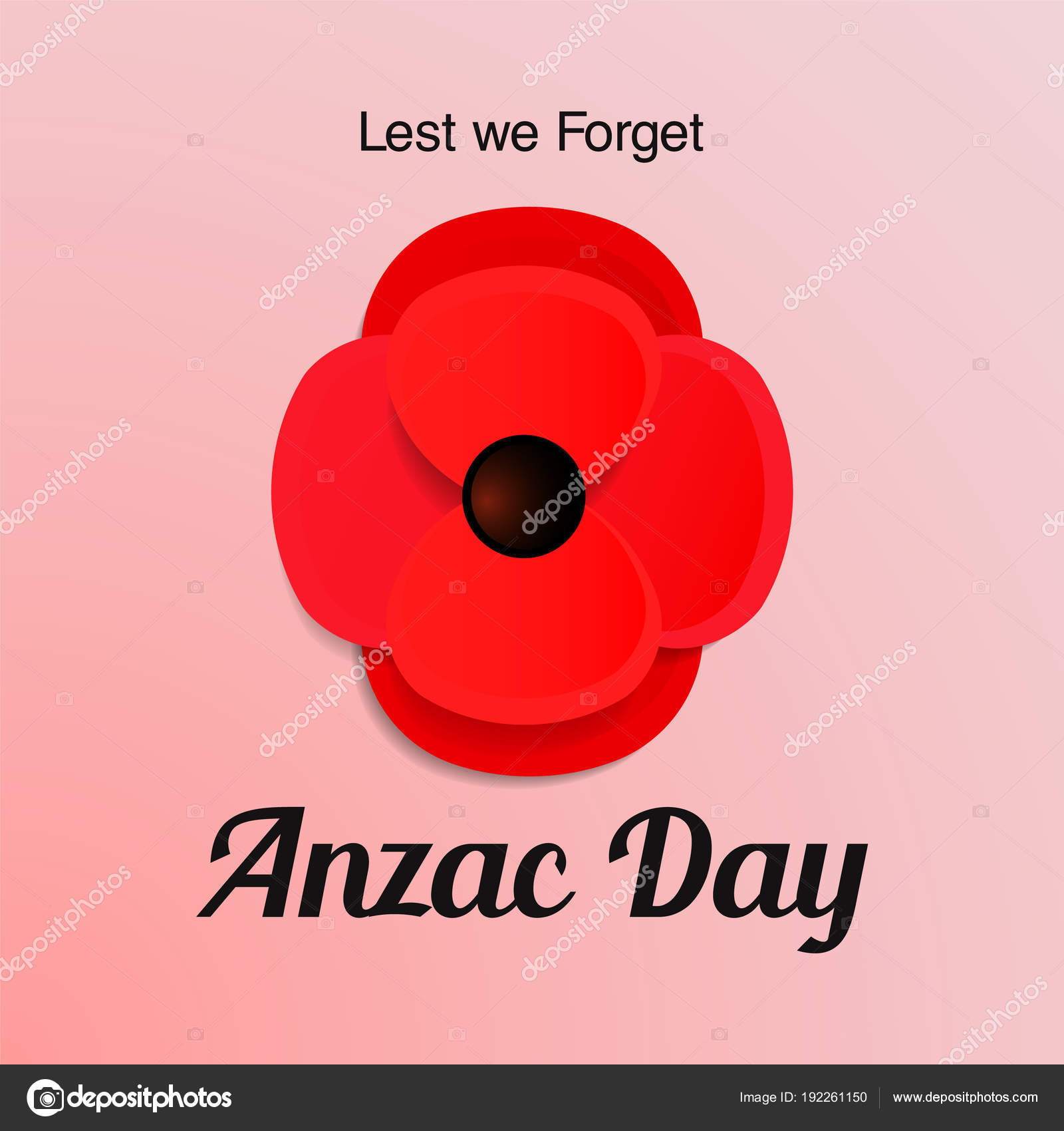 Anzac day vector card paper cut red poppy flower stock vector paper cut red poppy flower remembrance day symbol of peace lest we forget vector illustration eps 10 file vector by julsdumanskaail mightylinksfo