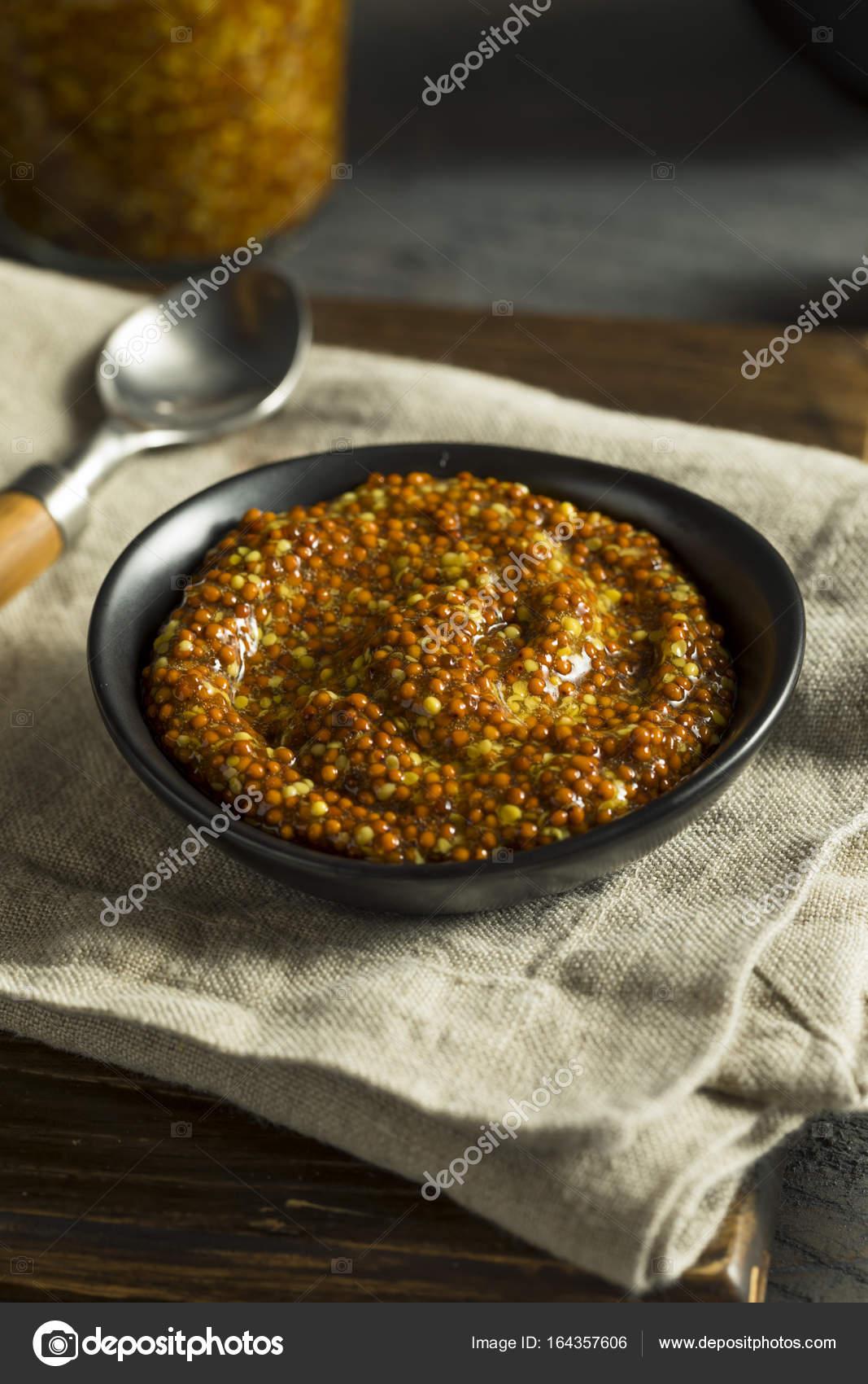 Homemade Organic Fancy Dijon Mustard