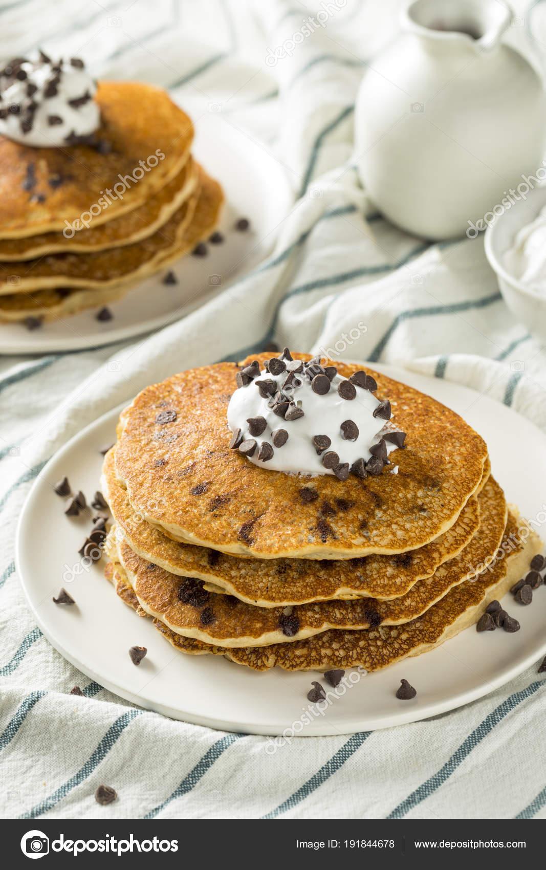 chocolate chip pannkakor
