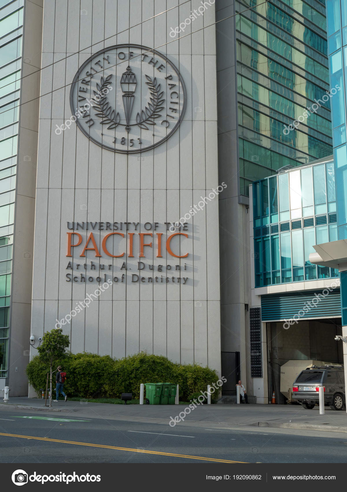 University of the Pacific Dental School campus location