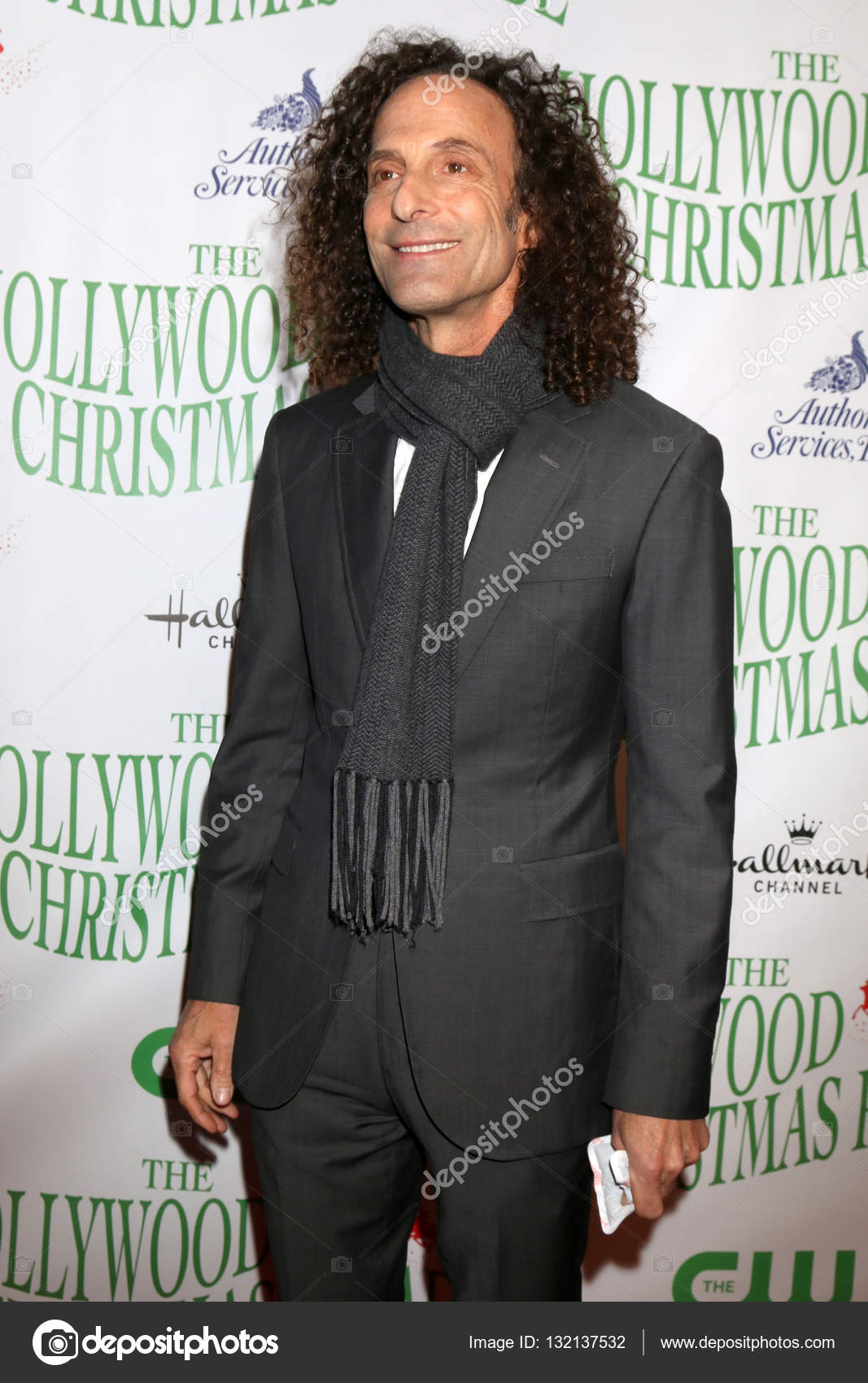 Kenny G Christmas.Kenny G Aka Kenny Gorelick Stock Editorial Photo
