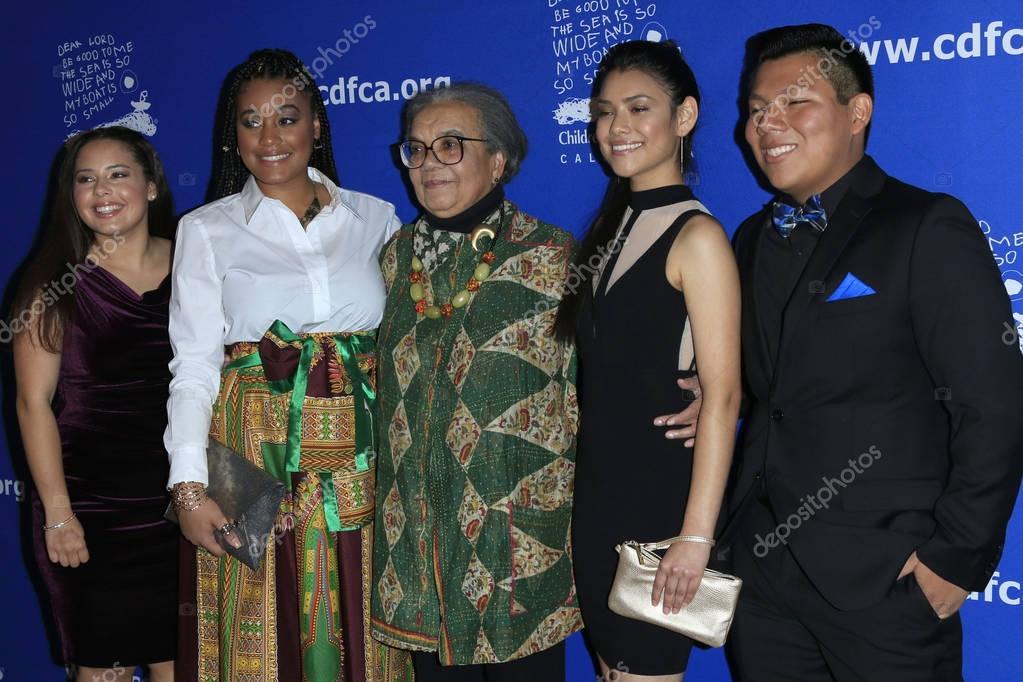 Destiny Novillo, Cierra Gunderson, Marian Wright Edelman, Alexandra Flores, Jose Aceves