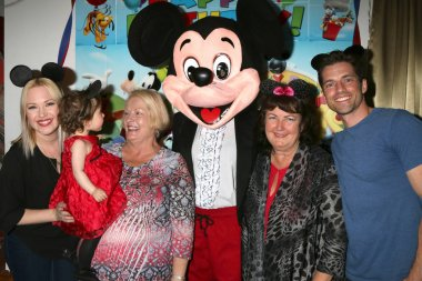 Adrienne Frantz Bailey, Amelie Bailey, Scott Bailey's mother, Mickey Mouse Character, Vicki Franz, Scott Bailey