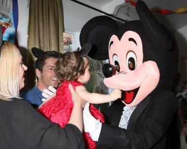Adrienne Frantz Bailey, Amelie Bailey, Scott Bailey, Mickey Mouse character