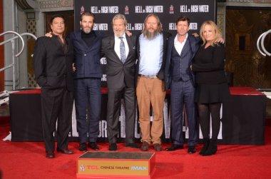 Gil Birmingham, Chris Pine, Jeff Bridges, David Mackenzie, Taylor Sheridan