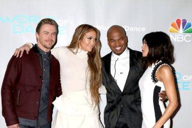 Derek Hough, Jennifer Lopez, Ne-Yo, Jenna Dewan Tatum