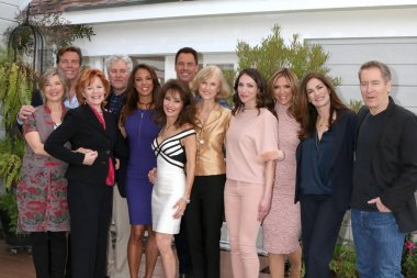 Taylor Miller, Peter Bergman, Kathleen Noone, Michael E. Knight, Eva LaRue, Susan Lucci, Mark Steines, Jill Larson and others