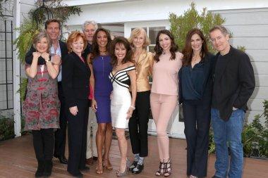 Taylor Miller, Peter Bergman, Kathleen Noone, Michael E. Knight, Eva LaRue, Susan Lucci, Mark Steines, Jill Larson