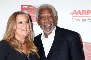Lori McCreary, Morgan Freeman