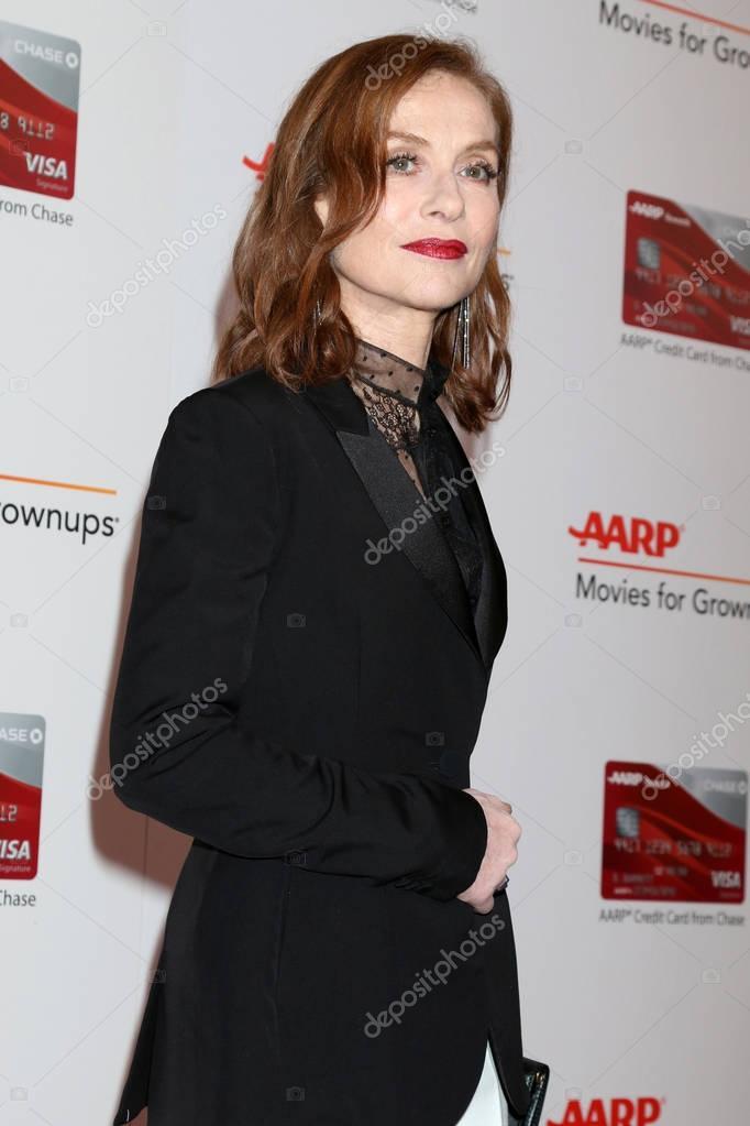 actress  Isabelle Huppert