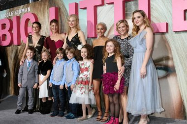Shailene Woodley, Laura Dern, Nicole Kidman, Zoe Kravitz and others