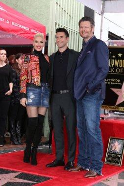 Adam Levine Hollywood Walk of Fame Star Ceremony
