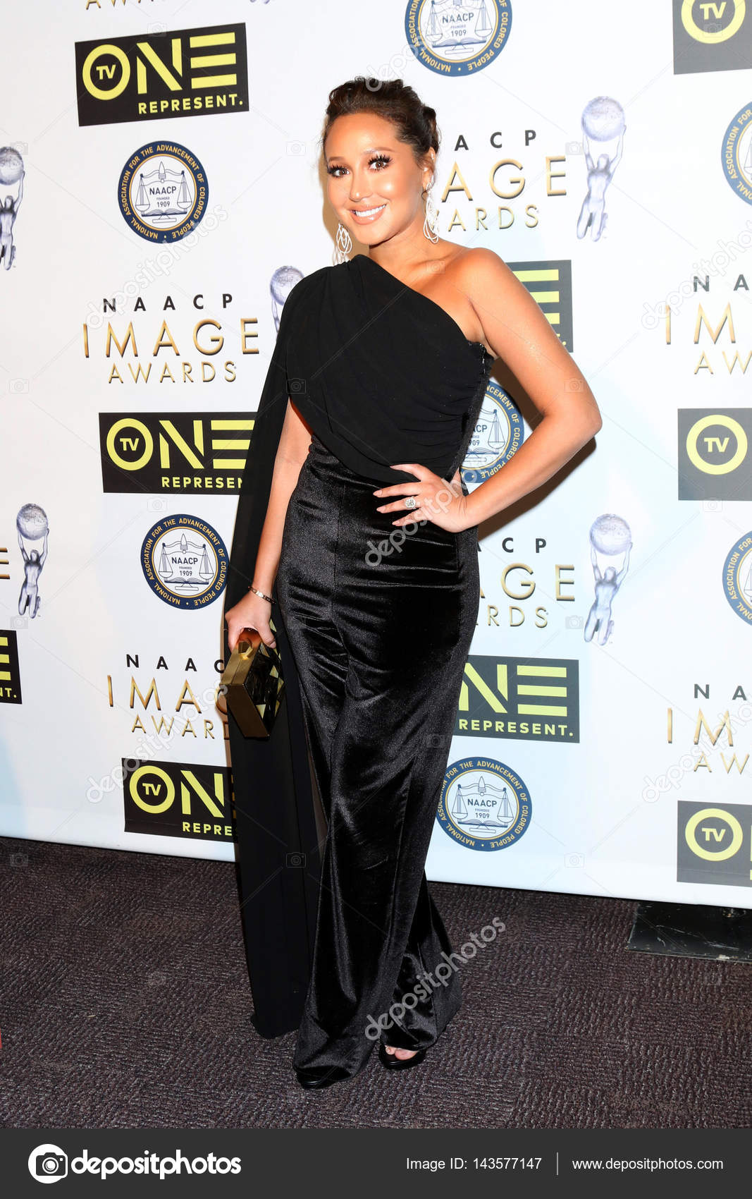Watch Adrienne bailon imagen awards in los angeles video