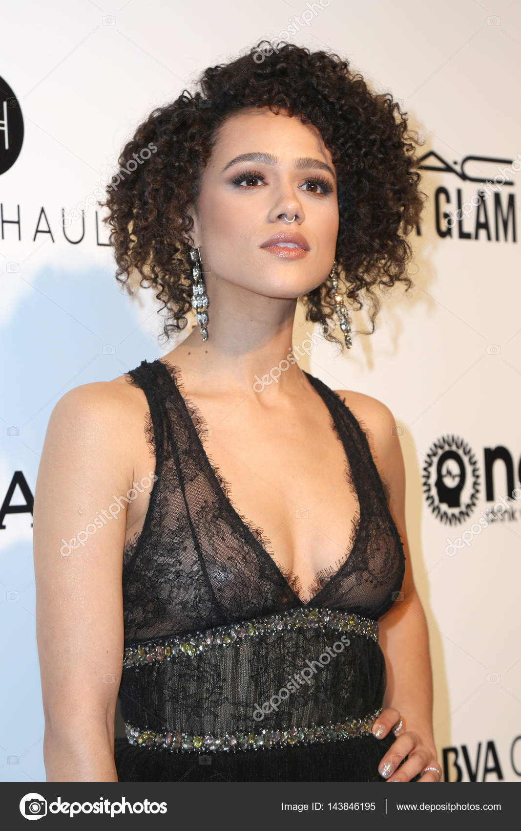 actress nathalie emmanuel – stock editorial photo © jean_nelson
