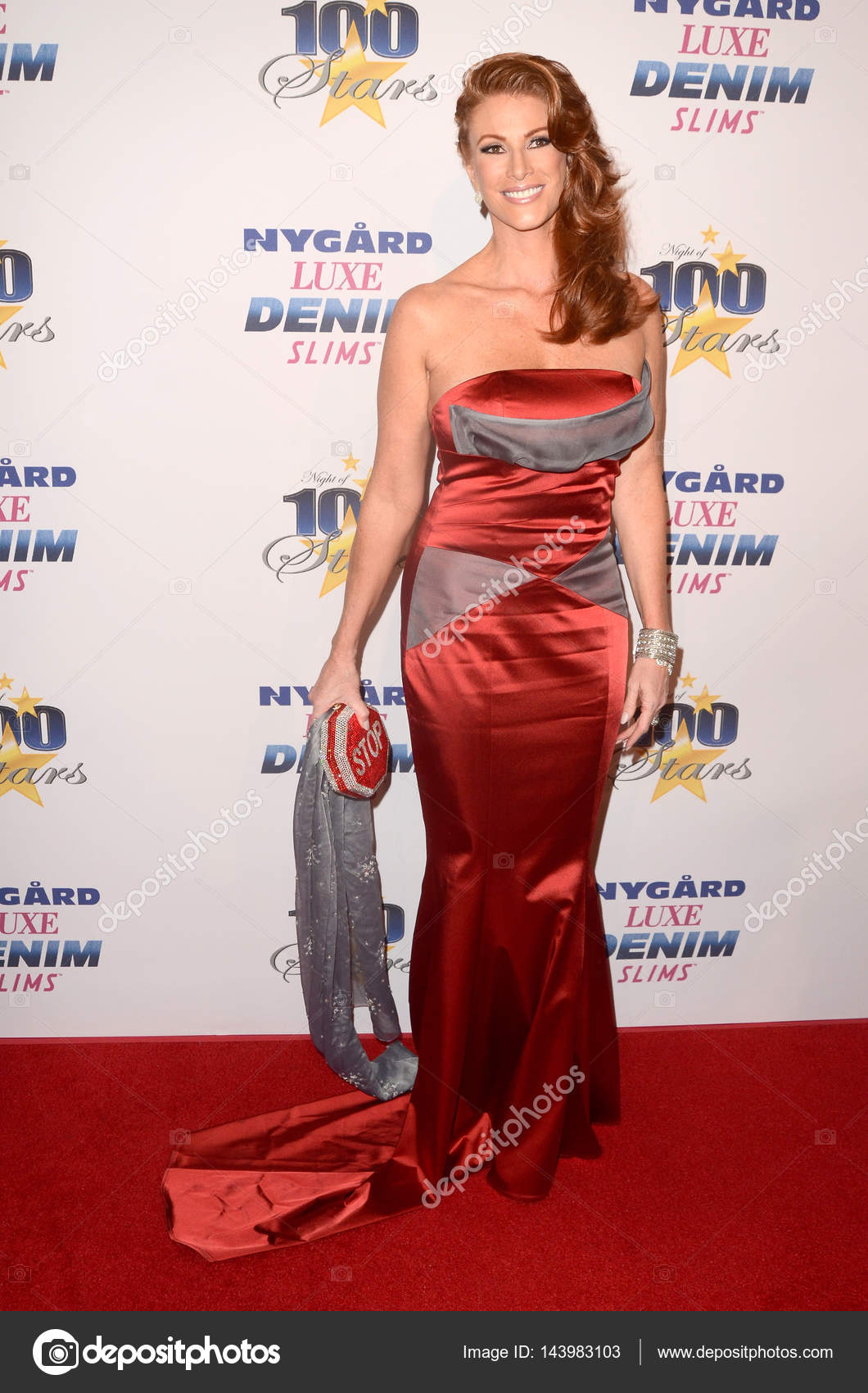 actress angie everhart – stock editorial photo © jean_nelson #143983103