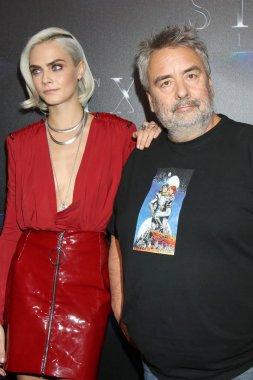 Cara Delevingne, Luc Besson
