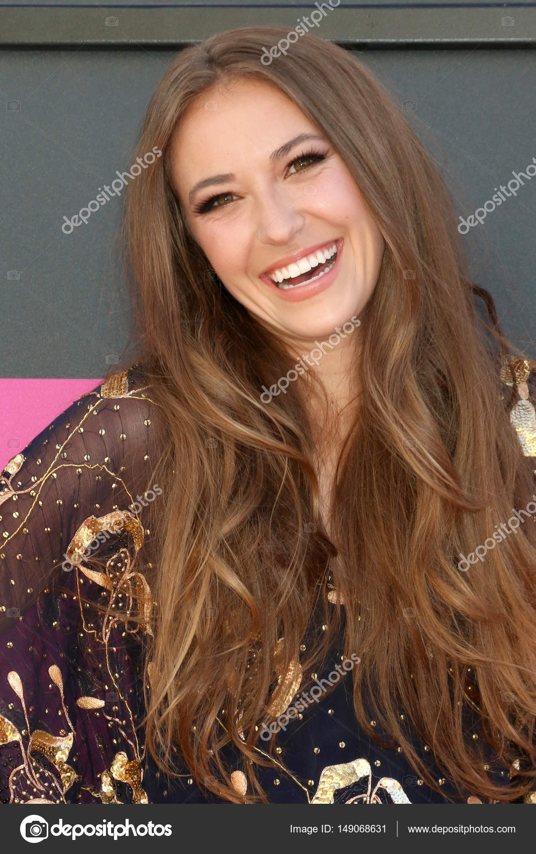 Lauren Daigle American Idol >> Cantora Lauren Daigle — Fotografia de Stock Editorial