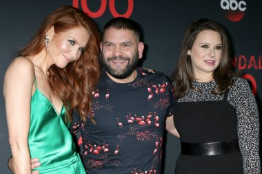 Darby Stanchfield, Katie Lowes and Guillermo Diaz