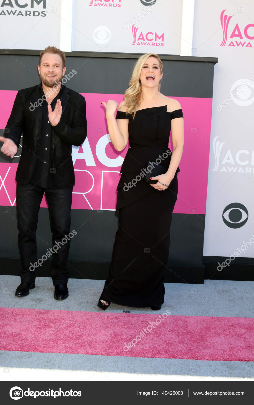 Kellie Pickler con Kyle Jacobs — Foto editorial de stock ...