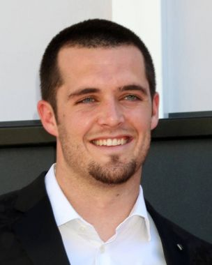 american football player Derek Carr
