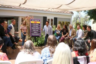 Lawrence Zarian, Paige Hemmis, Kym Douglas, Matt Iseman, Model, Mark Steines, Katherine Kelly Lang, Heather Tom, John McCook, Jacob Young, Karla Mosley, Darin Brooks