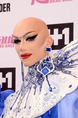 Sasha Velour at the RuPauls Drag Race Season 9 Finale Taping