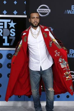 French Montana at the BET Awards 2017