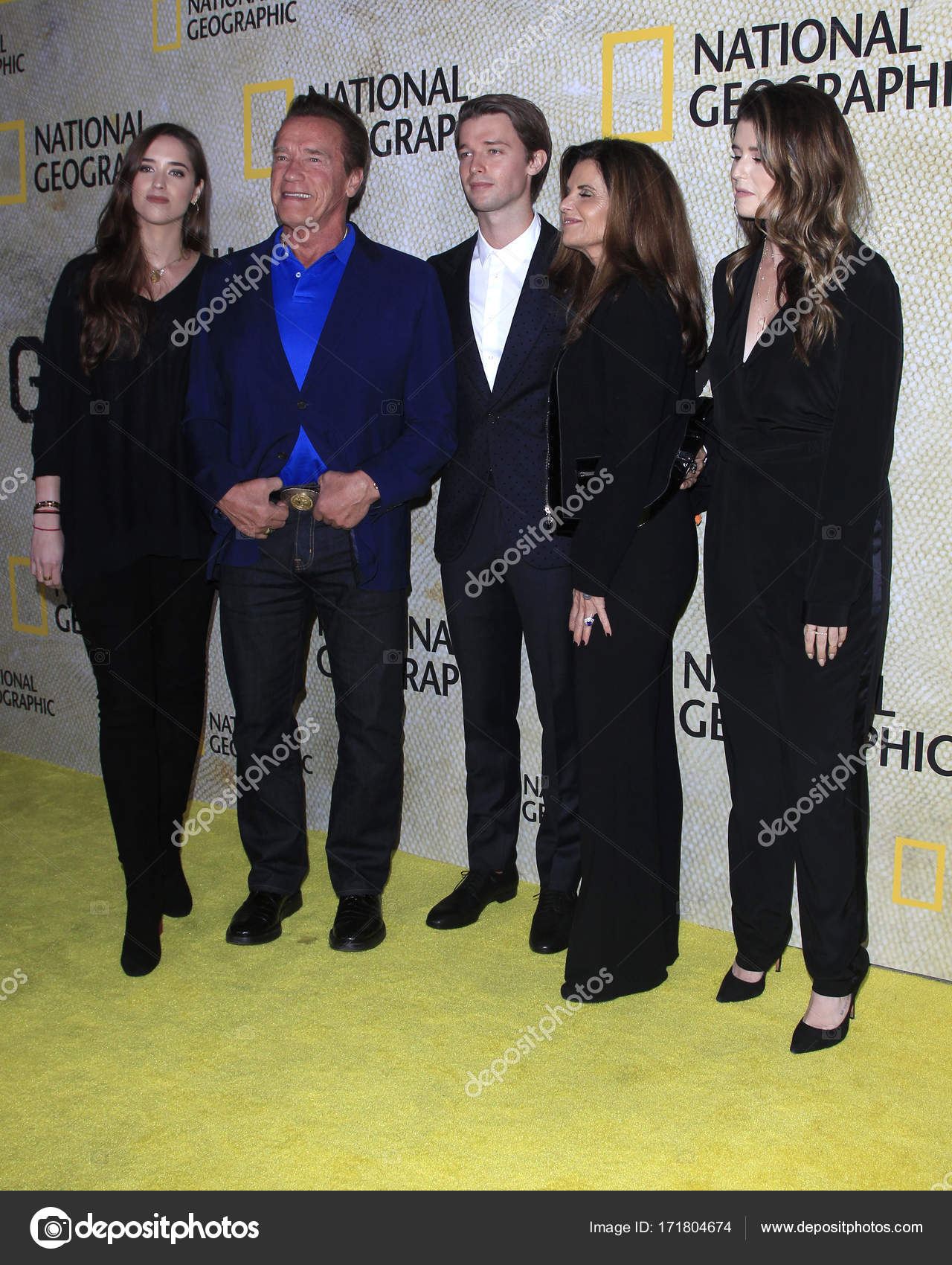 Christina Schwarzenegger, Arnold Schwarzenegger, Patrick