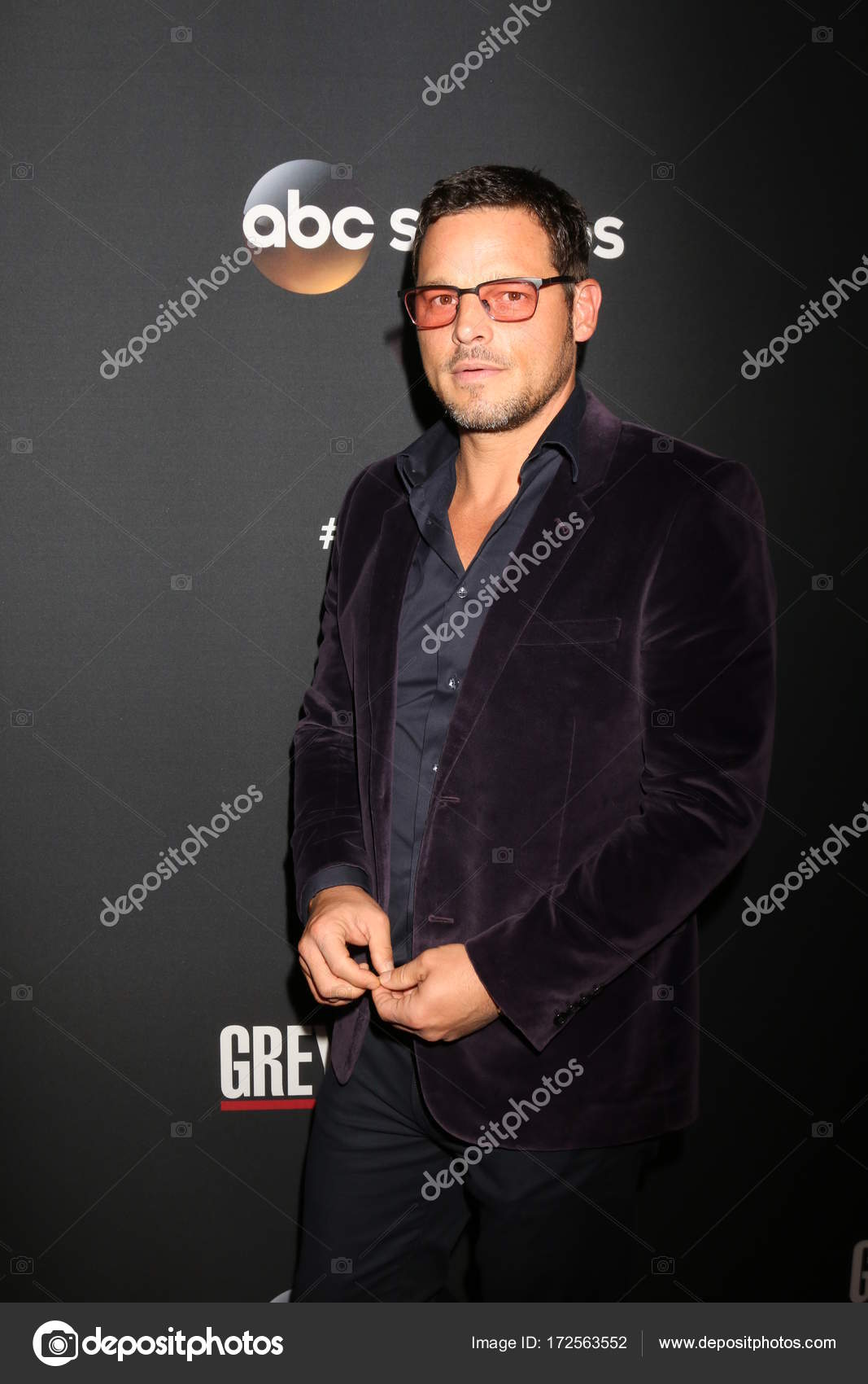 Actor Justin Chambers — Foto editorial de stock © Jean_Nelson #172563552