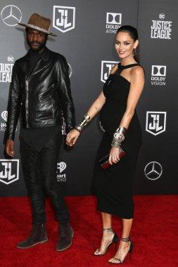 Musician Gary Clark Jr and model Nicole Trunfio