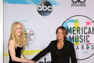 Actress Nicole Kidman and singer Keith Urban