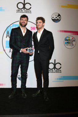 Alex Pall, Andrew Taggart of The Chainsmokers