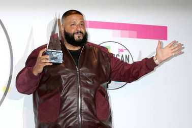 Record producer DJ Khaled