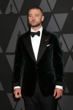 Singer Justin Timberlake at the AMPAS 9th Annual Governors Awards at Dolby Ballroom in Los Angeles, CA