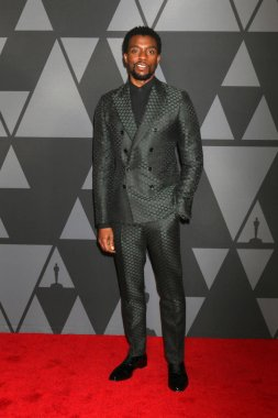Actor Chadwick Boseman at the AMPAS 9th Annual Governors Awards at Dolby Ballroom in Los Angeles, CA