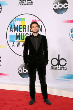 Record producer Zedd at the American Music Awards 2017 at Microsoft Theater in Los Angeles, CA
